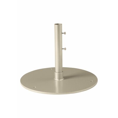 Free Standing Steel Plate Umbrella Base Finish: Sonora