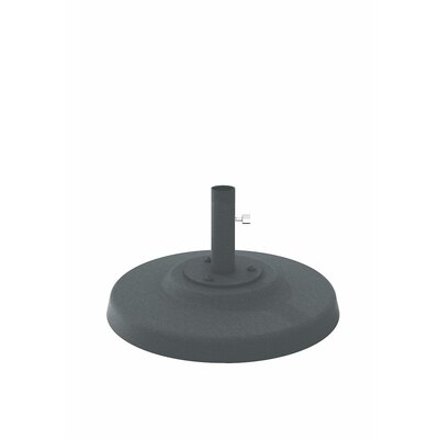 Cement Filled Aluminum Umbrella Base Finish: Woodland