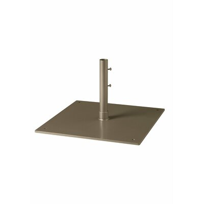 Free Standing Steel Plate Umbrella Base Finish: Moab