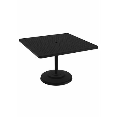 LaStratta Dining Table Table Size: 42 L x 42 W, Finish: Sonora