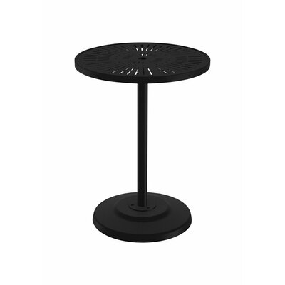 LaStratta Bar Table Table Size: 36 L x 36 W, Finish: Sonora
