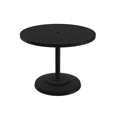 Boulevard Dining Umbrella Table Finish: Obsidian, Table Size: 36 L x 36 W