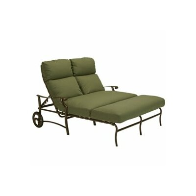 Montreux II Double Chaise Lounge with Cushion