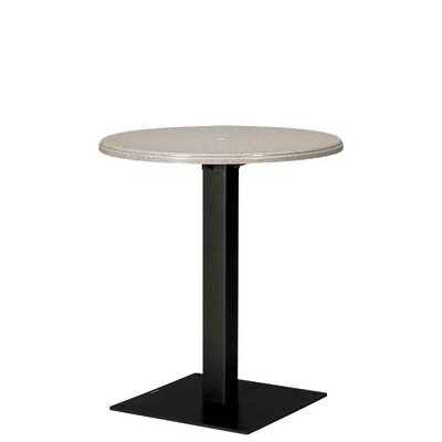 Cabana Club Bar Table Base Finish: Mocha