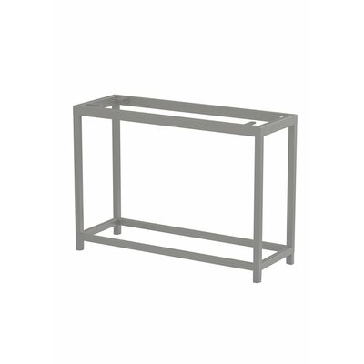 Cabana Club Console Table Base Finish: Obsidian