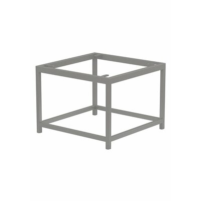 Cabana Club Side Table Base Finish: Parchment