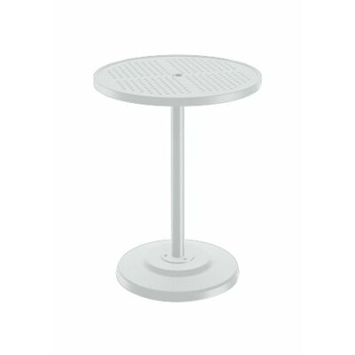 Boulevard Bar Table Finish: Snow, Table Size: 30 L x 30 W