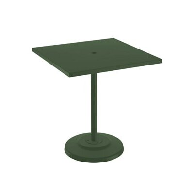 Boulevard Bar Table Table Size: 36 L x 36 W, Finish: Woodland