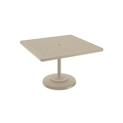 Boulevard Dining Table Table Size: 42 L x 42 W, Finish: Sonora