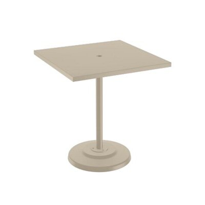 Boulevard Bar Table Table Size: 36 L x 36 W, Finish: Sonora
