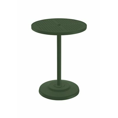Boulevard Bar Table Finish: Woodland, Table Size: 30 L x 30 W