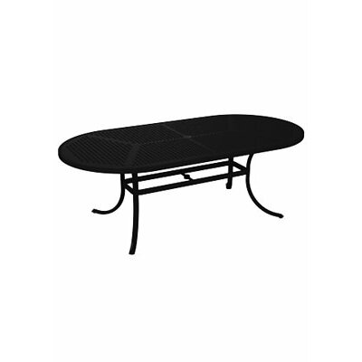 Boulevard Dining Table Finish: Obsidian