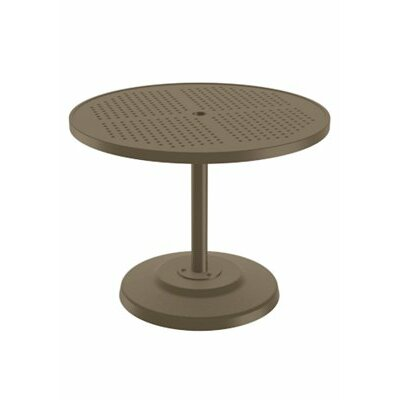 Boulevard Dining Umbrella Table Finish: Moab, Table Size: 36 L x 36 W