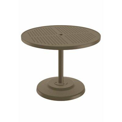 Boulevard Dining Umbrella Table Finish: Moab, Table Size: 36 L x 36 W