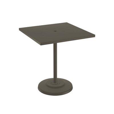 Boulevard Bar Table Finish: Mocha, Table Size: 36 L x 36 W