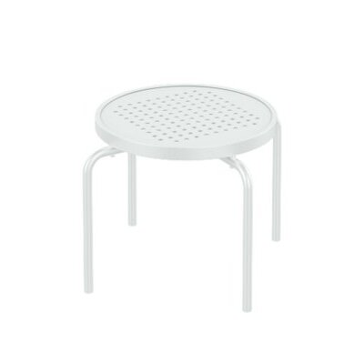 Boulevard Stacking Tea Table Finish: Snow