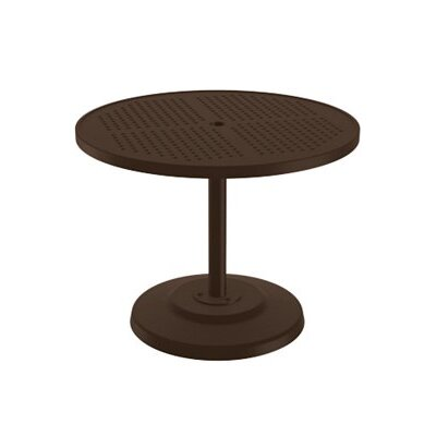 Boulevard Dining Umbrella Table Finish: Greco, Table Size: 36 L x 36 W