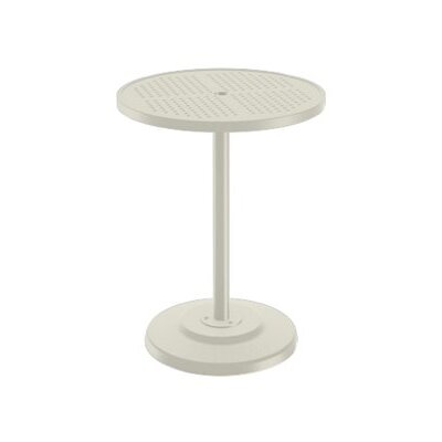 Boulevard Bar Table Finish: Parchment, Table Size: 30 L x 30 W