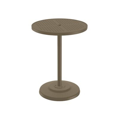 Boulevard Bar Table Finish: Moab, Table Size: 30 L x 30 W