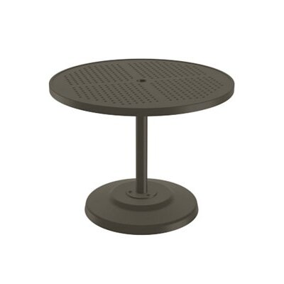 Boulevard Dining Umbrella Table Finish: Mocha, Table Size: 36 L x 36 W