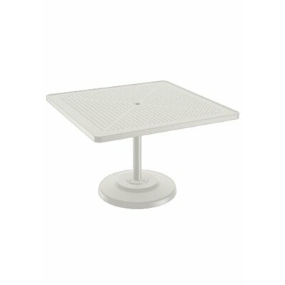 Boulevard Dining Table Table Size: 42 L x 42 W, Finish: Shell