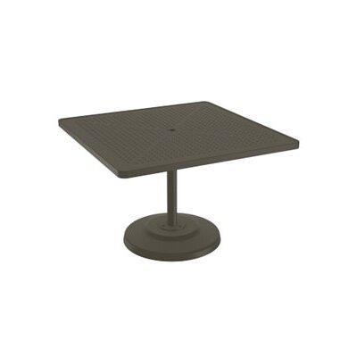 Boulevard Dining Table Table Size: 42 L x 42 W, Finish: Mocha