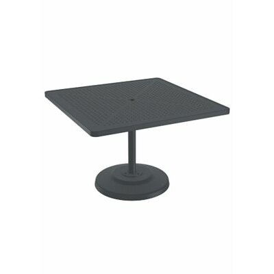 Boulevard Dining Table Table Size: 36 L x 36 W, Finish: Greco