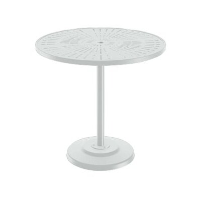 LaStratta Bar Table Finish: Snow