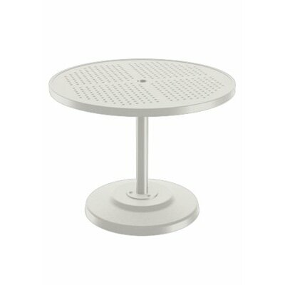 Boulevard Dining Umbrella Table Finish: Shell, Table Size: 36 L x 36 W