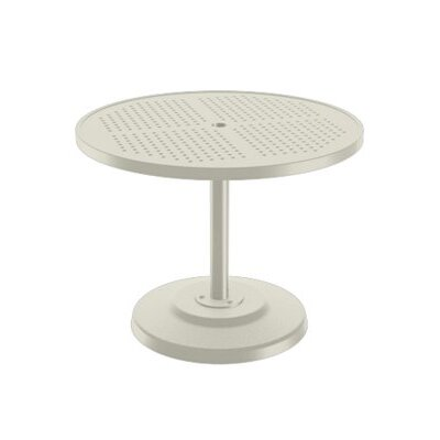 Boulevard Dining Umbrella Table Finish: Parchment, Table Size: 36 L x 36 W