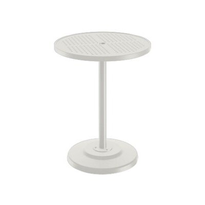 Boulevard Bar Table Finish: Shell, Table Size: 30 L x 30 W