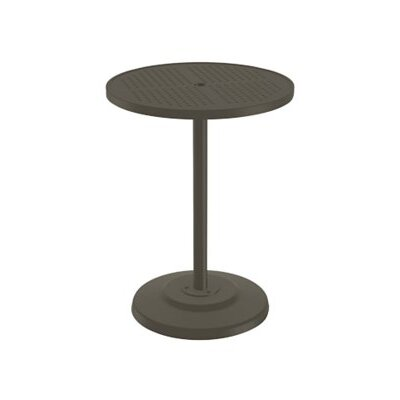Boulevard Bar Table Finish: Mocha, Table Size: 30 L x 30 W