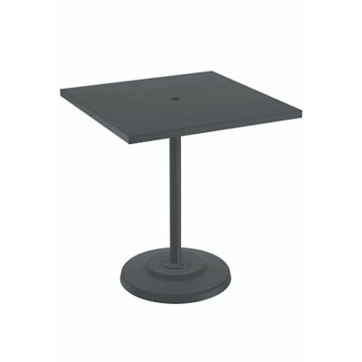 Boulevard Bar Table Table Size: 42 L x 42 W, Finish: Woodland