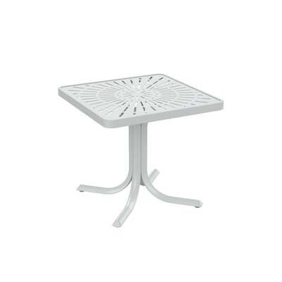 LaStratta End Table Finish: Snow