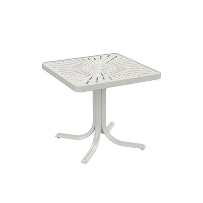 LaStratta End Table Finish: Shell