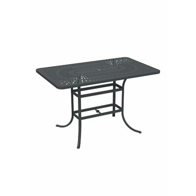 LaStratta Bar Table Finish: Graphite