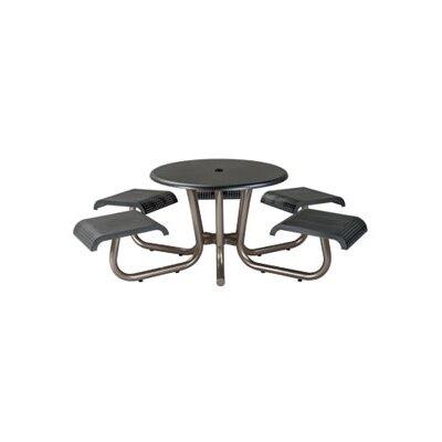Site Furnishings Picnic Table Base Finish: Bronze