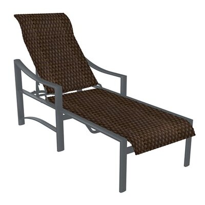 Kenzo Chaise Lounge Finish: Graphite