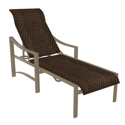 Kenzo Chaise Lounge Finish: Moab