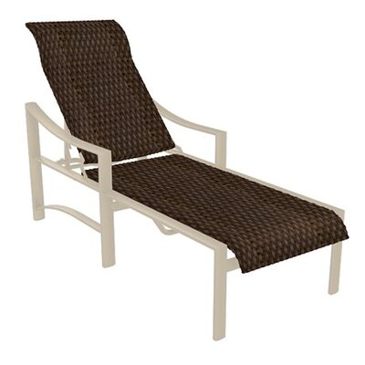 Kenzo Chaise Lounge Finish: Sonora