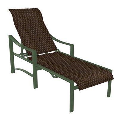 Kenzo Chaise Lounge Finish: Woodland