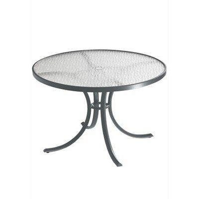 Dining Table Finish: Shell, Table Size: 42 L x 42 W