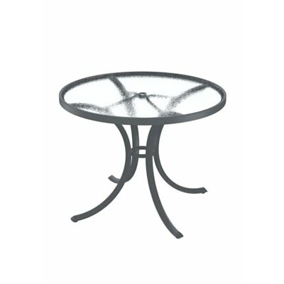 Dining Table Table Size: 36 L x 36 W, Finish: Obsidian