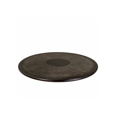 Carbretta Round Table Top Finish: Dark chocolate