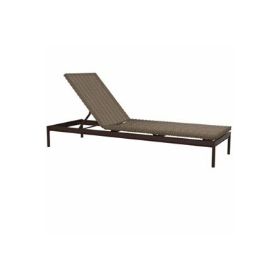 Cabana Club Chaise Lounge Finish: Mocha