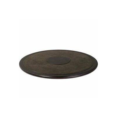 Cabtetta Round Table Top Finish: Dark chocolate