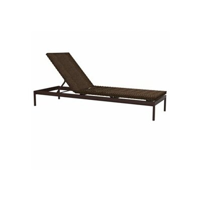 Cabana Club Chaise Lounge Finish: Graphite