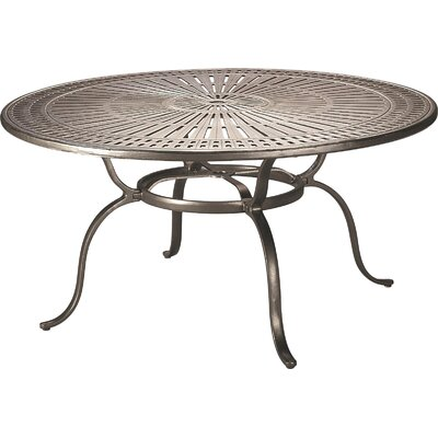 Dining Table Table Size: 54, Finish: Graphite