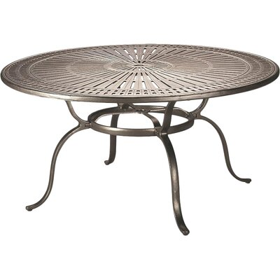 Dining Table Table Size: 48, Finish: Obsidian