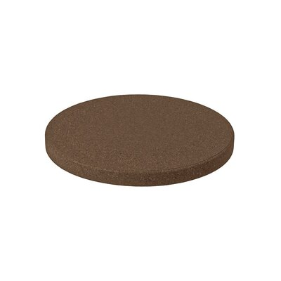 Matrix Round Table Top Finish: Brown, Size: 24 L x 24 W